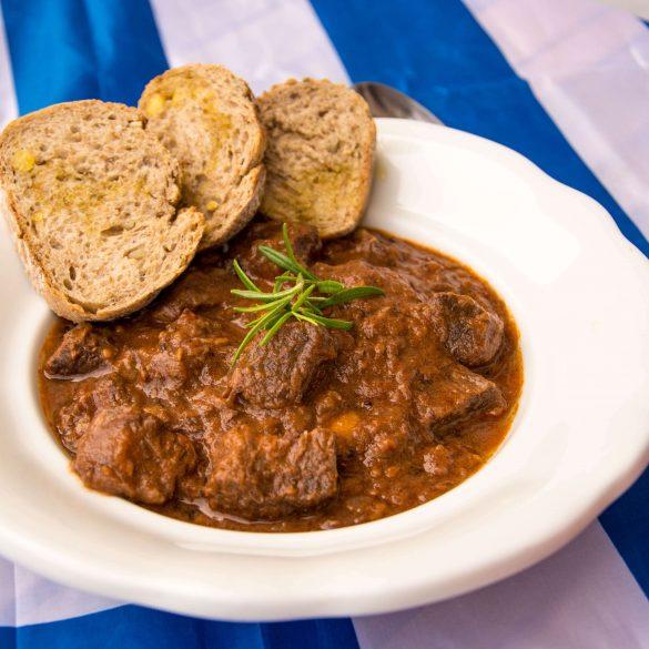 Recept na grécky guľáš