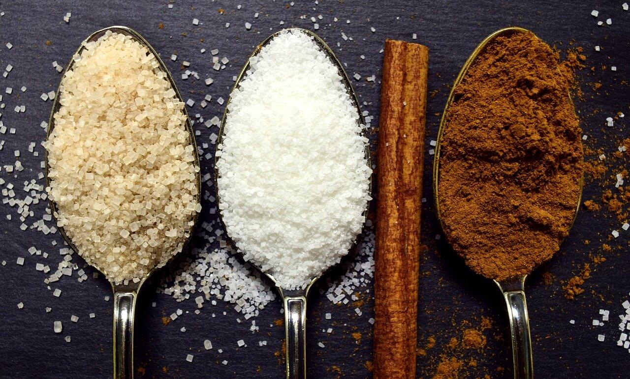 sladký peeling z cukru