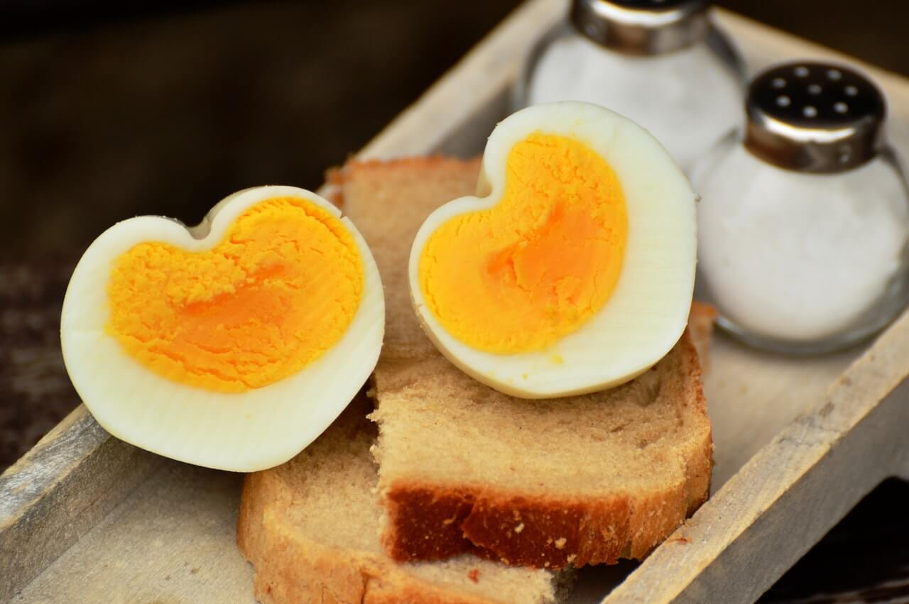 chlebík s vajíčkom