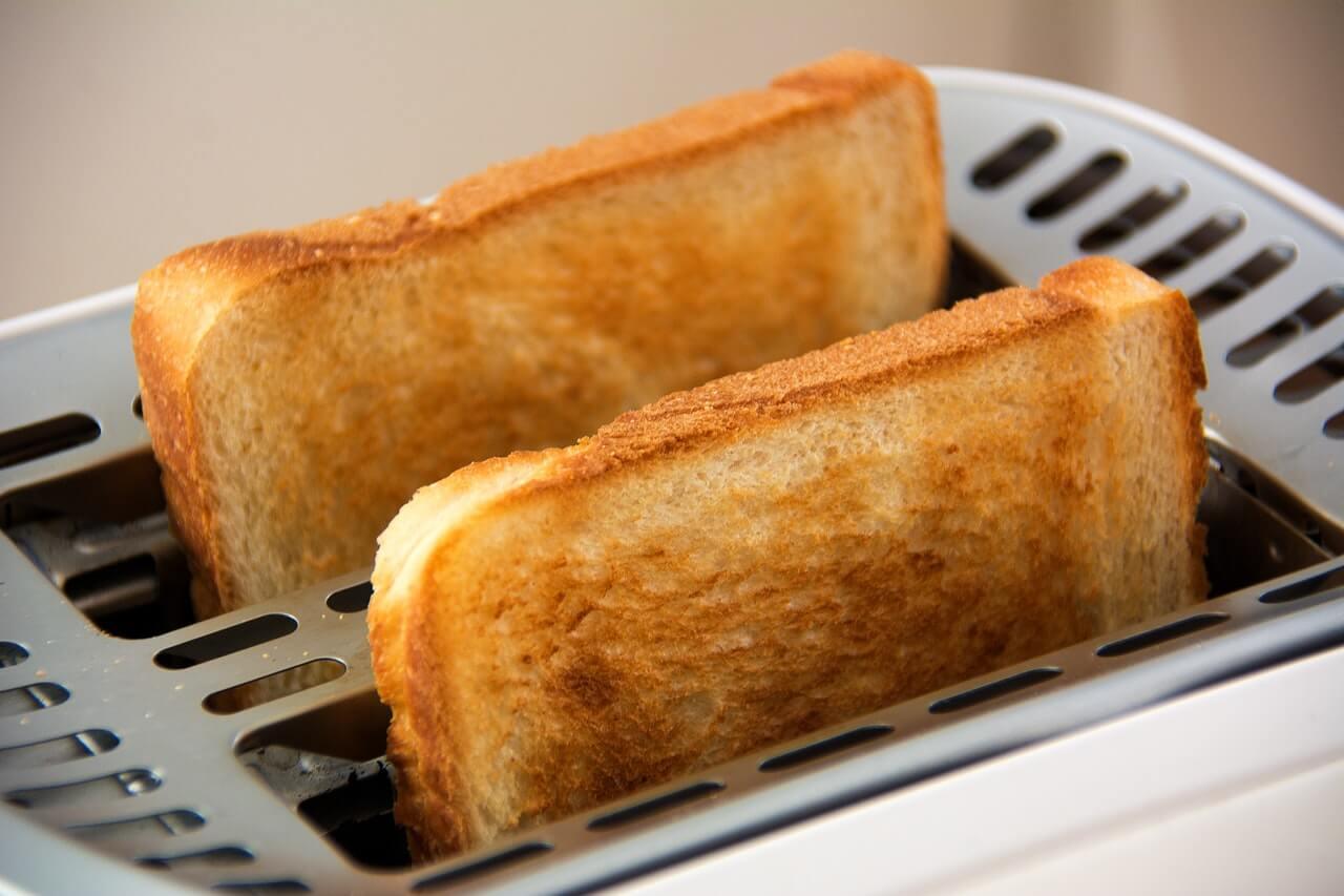 zapečený chlebík na večeru