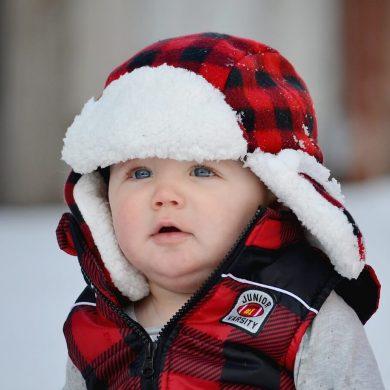 ako sa starať v zime o pokožku bábätka