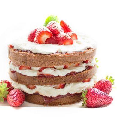 narodeninová torta pre batoľatá