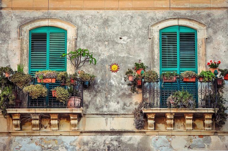 Egy kert a balkonon