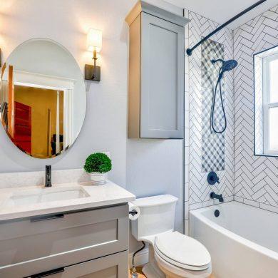 Hogyan növeljük optikailag a fürdőszobát
