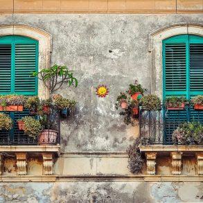 Záhrada na balkóne