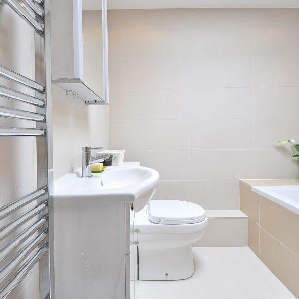 ako optimalizovať priestor v malej kúpeľni