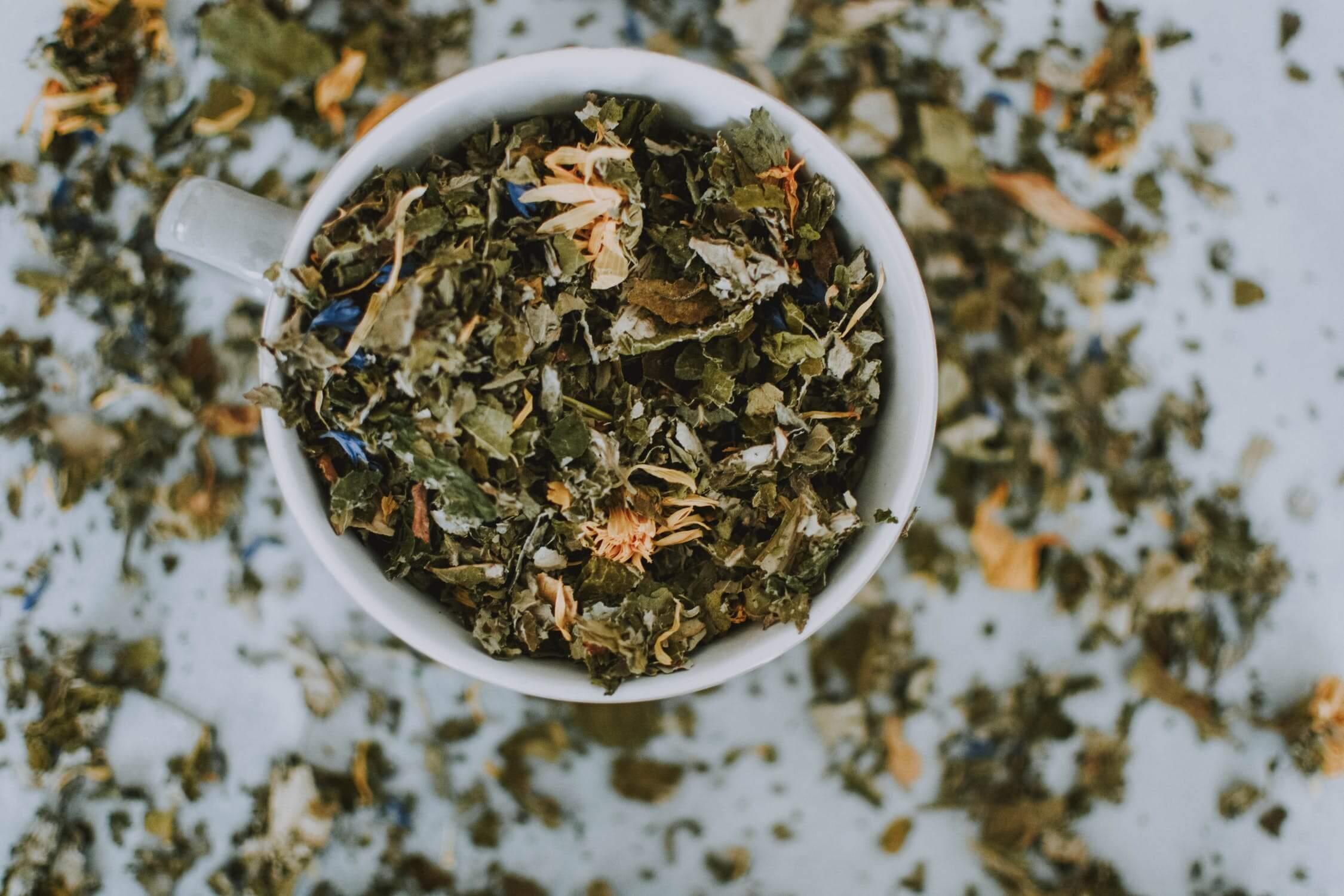 forró tea segíti a fogyást