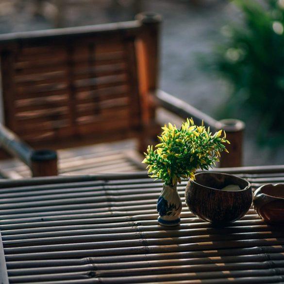 aby ste si užili posedenie v záhrade