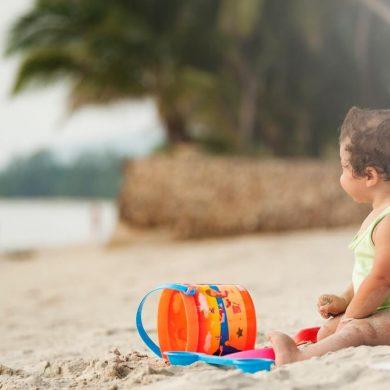 Ako zabaviť deti na pláži