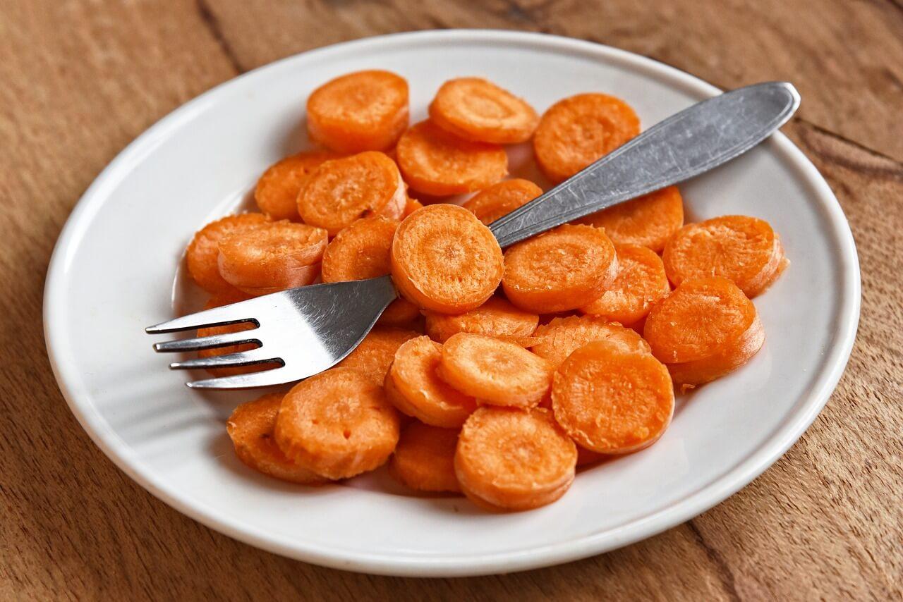 udržiavač pekného opálenia je bez pochýb práve mrkva