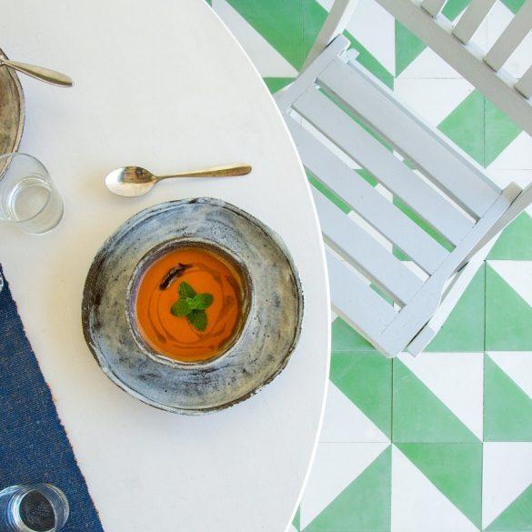 Gazpacho,studená letná polievka