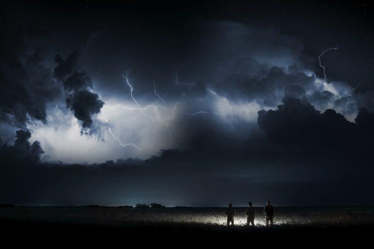 búrka na túre