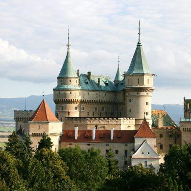 Tip na 4 slovenské hrady a zámky
