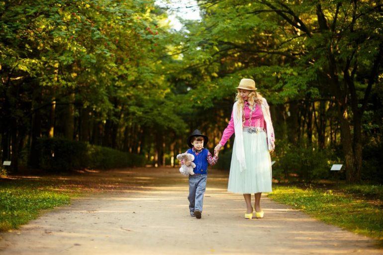 Prečo chodiť na prechádzky s deťmi