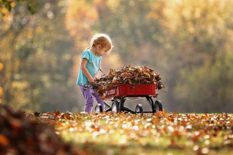 Ako sa hrať na ihrisku v jeseni