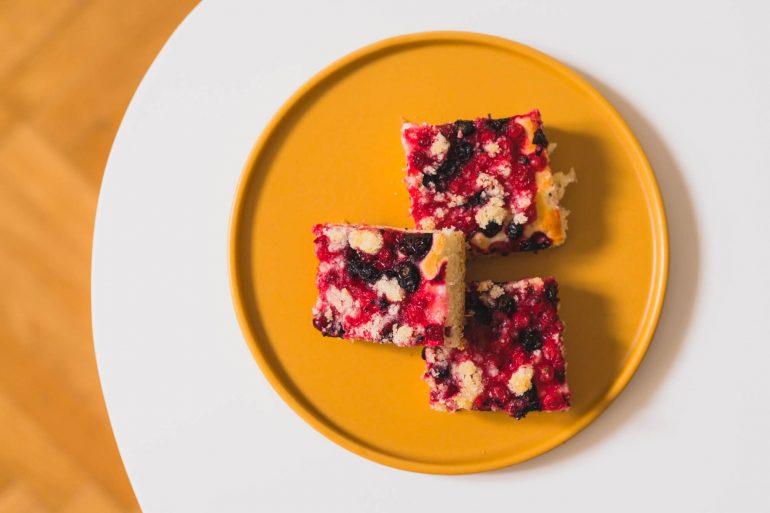 Ríbezľový kysnutý koláč