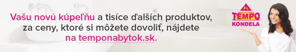 Kúpeľne za skvelé ceny na temponabytok.sk