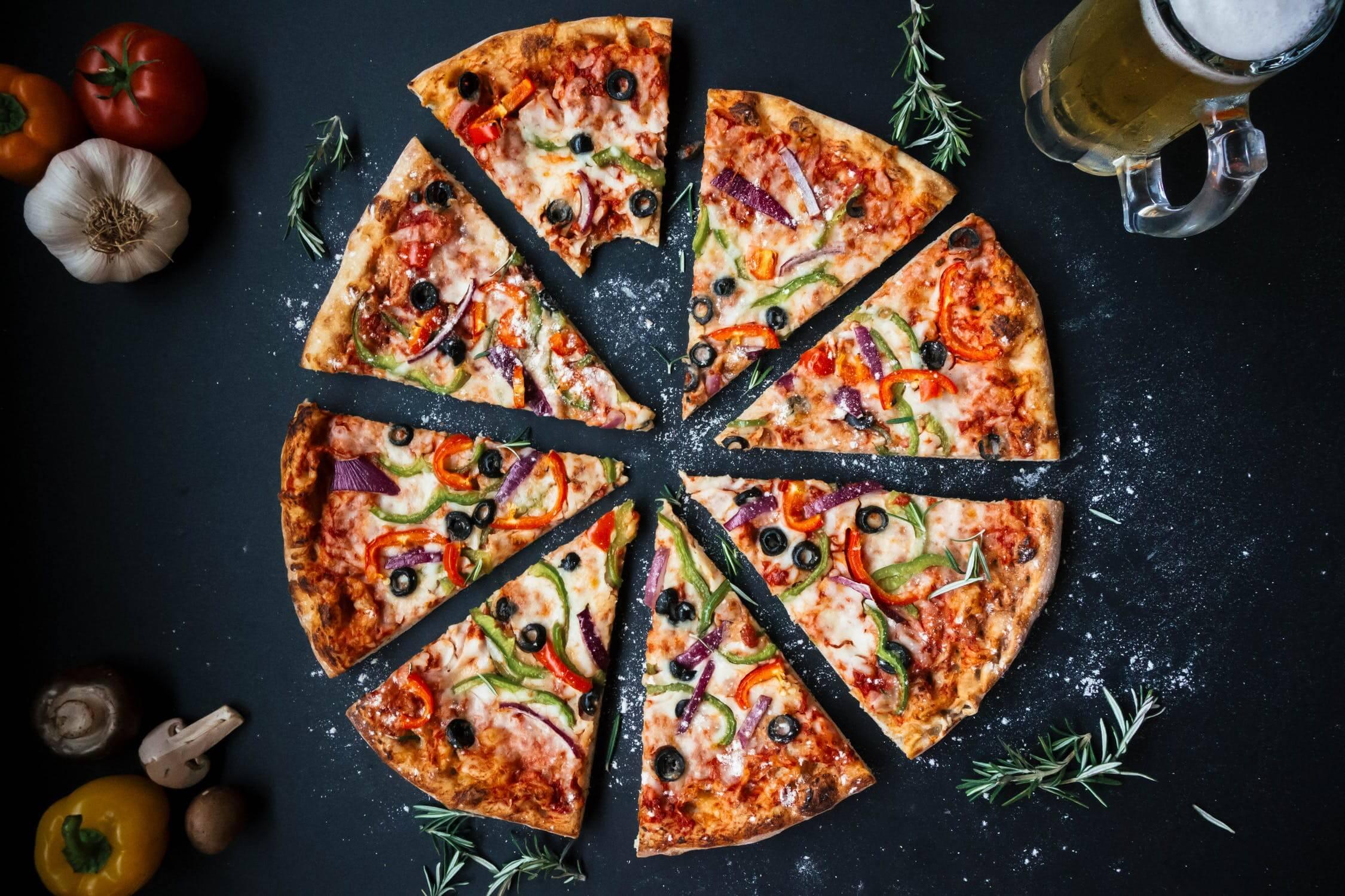 Na pizzu poukladajte to, čo máte radi