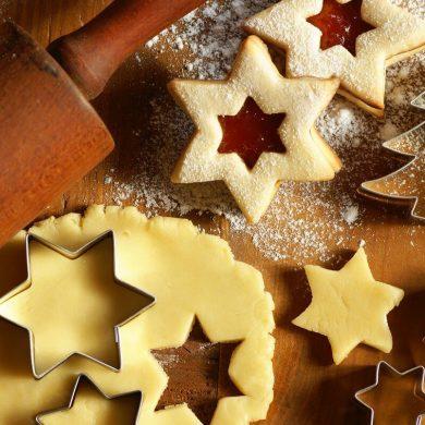 Vianočné linecké kolieska
