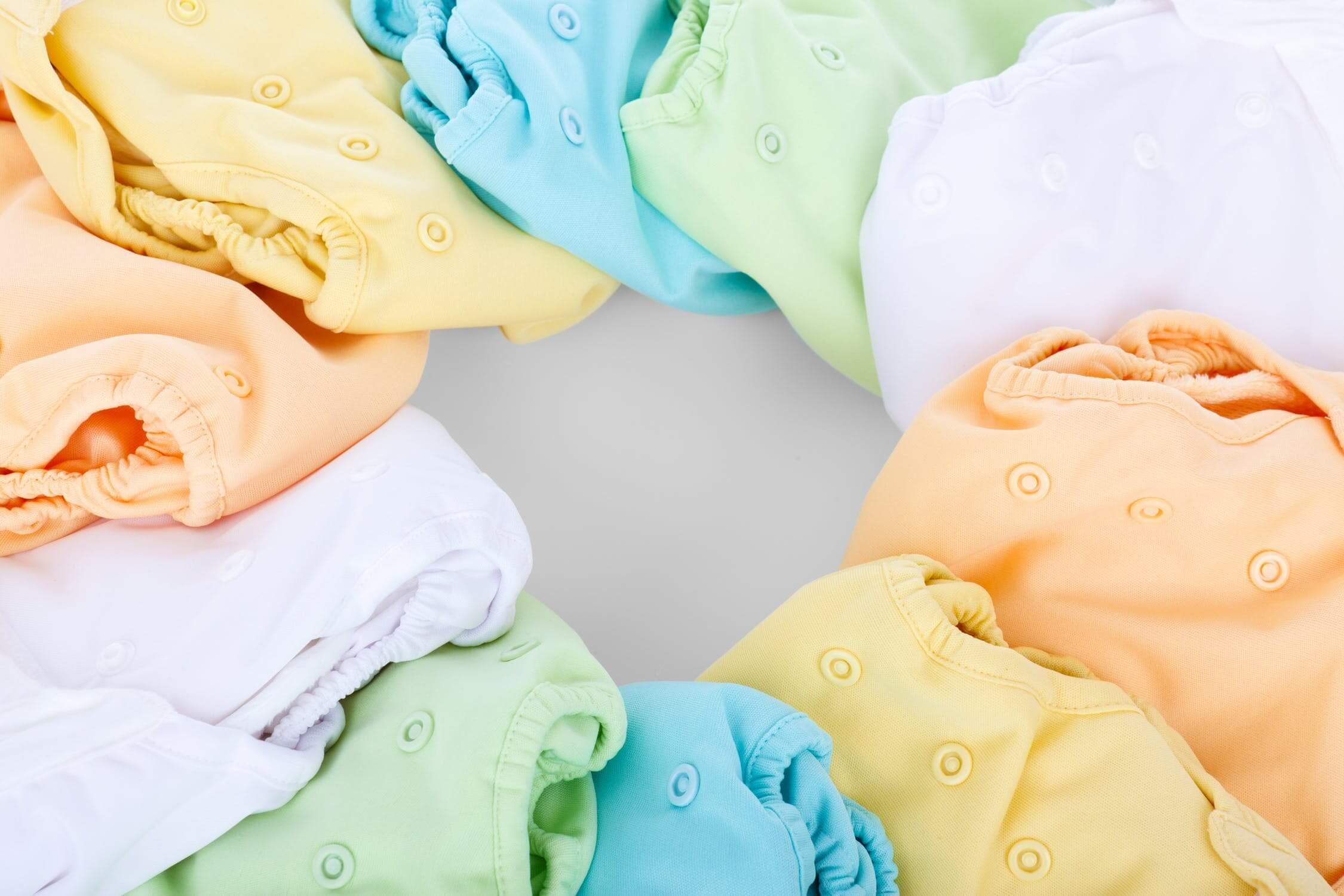 v prvé dni odúčania klasické textilné plienky
