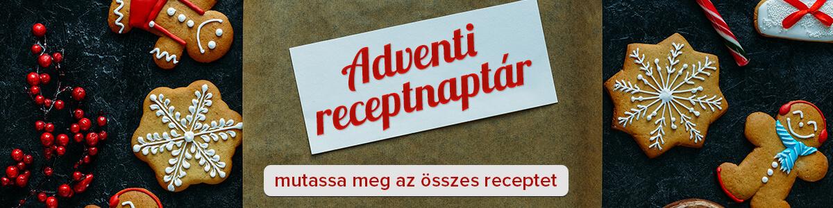 Adventi receptnaptár