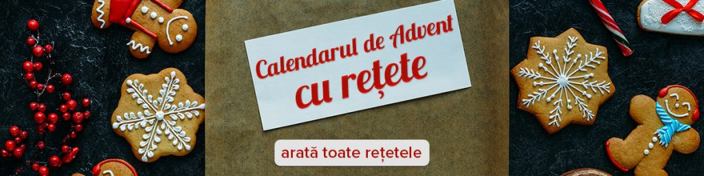 calendarul de advent cu rețete