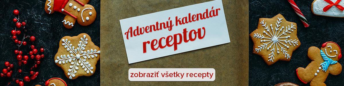 Adventný kalendár receptov