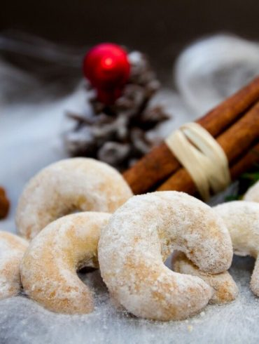 Cornulețe de Crăciun cu vanilie