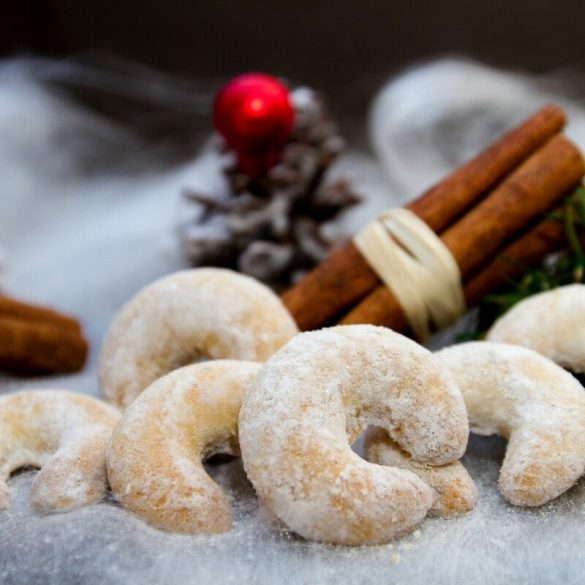 Karácsonyi vaníliás kiflik