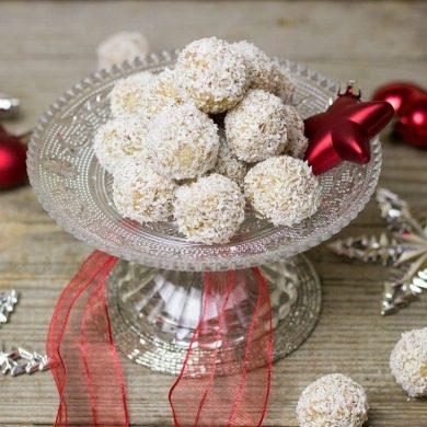 Vianočné Raffaello guľky