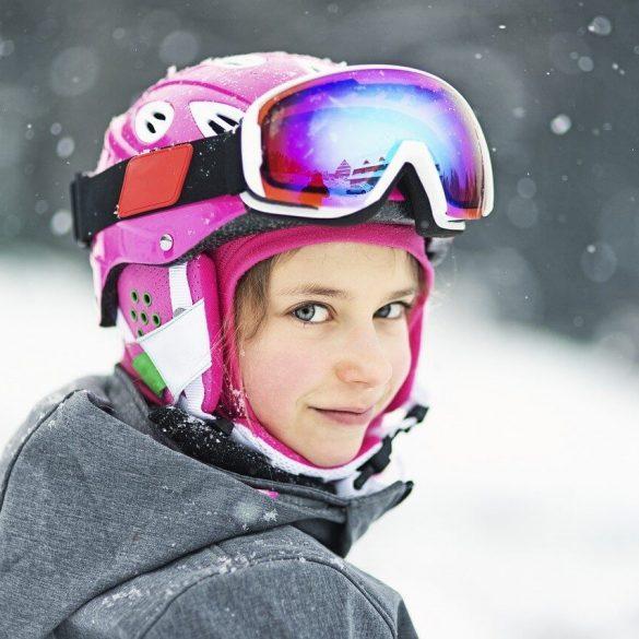 Chcete naučiť dieťa lyžovať?