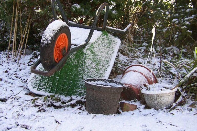 A kertben télen is dolgozhatunk