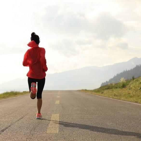 Alergatul și reducerea în greutate.