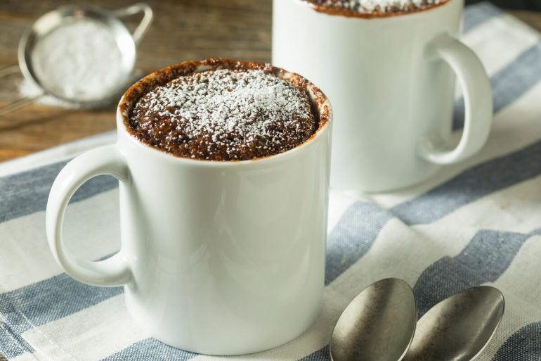 Bögrés mogyorós brownies