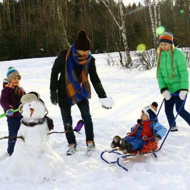 Copiii Dvs. se bucură de zăpadă?