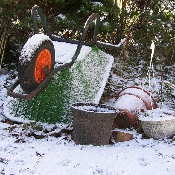 V záhrade môžete pracovať aj počas zimy