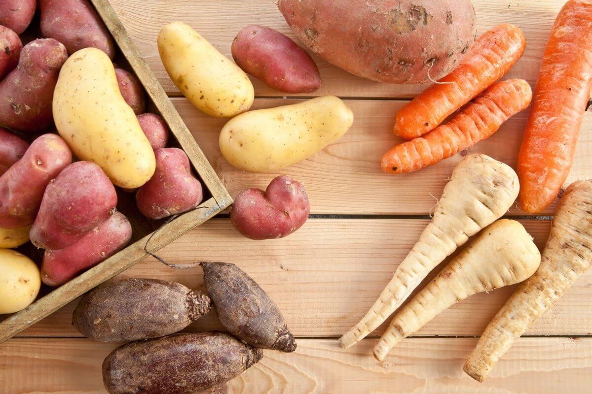 Sladkú a koreňovú zeleninu je však vhodné obmedziť