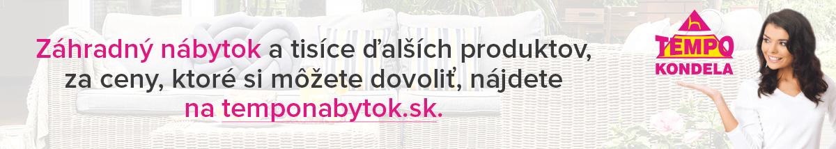 Záhradný nábytok na temponabytok.sk
