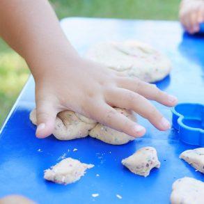 Prírodná domáca plastelína pre deti
