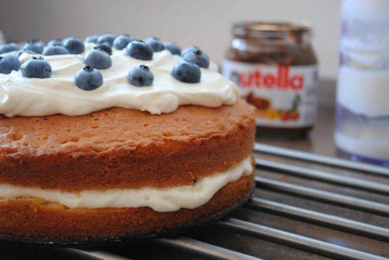 Rýchla narodeninová torta s mascarpone