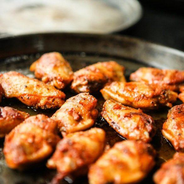 Grillezett csirkeszárny sörpácban