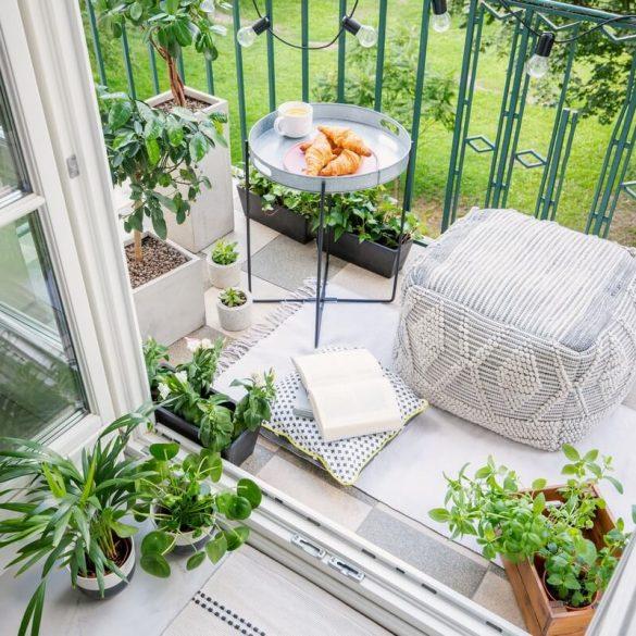 ako premeniť balkón na miesto, kde sa budete cítiť dobre
