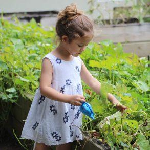 Hry v záhrade podľa veku dieťaťa