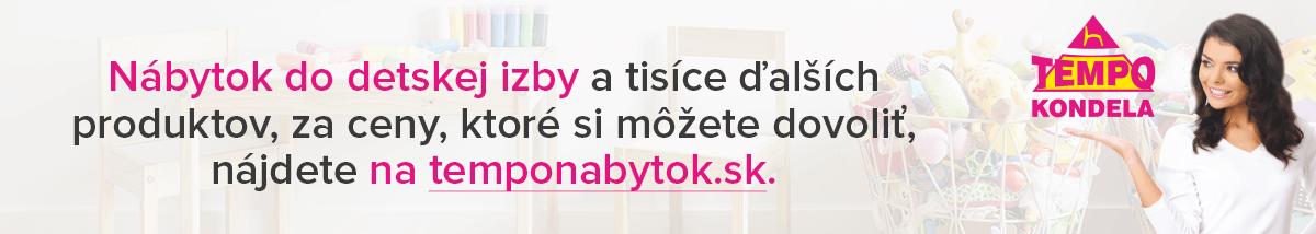 Detská nábytok a postele na temponabytok.sk