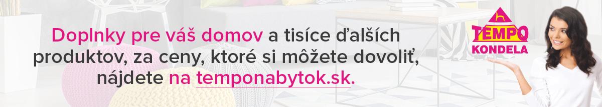 Bytové doplnky na temponabytok.sk