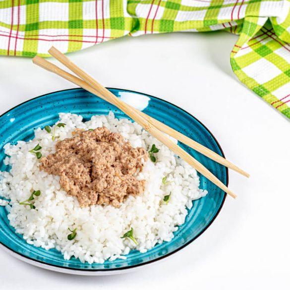 Póriková ryža s tuniakom, omeleta so žihľavou, kalerábová polievka