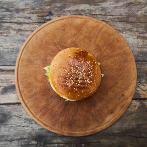 Hamburger avokádómajonézzel