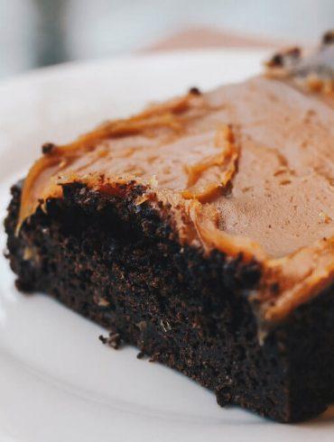 Dokonalé brownies s karamelom