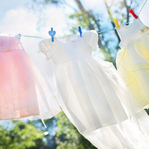Ako správne prať detské oblečenie