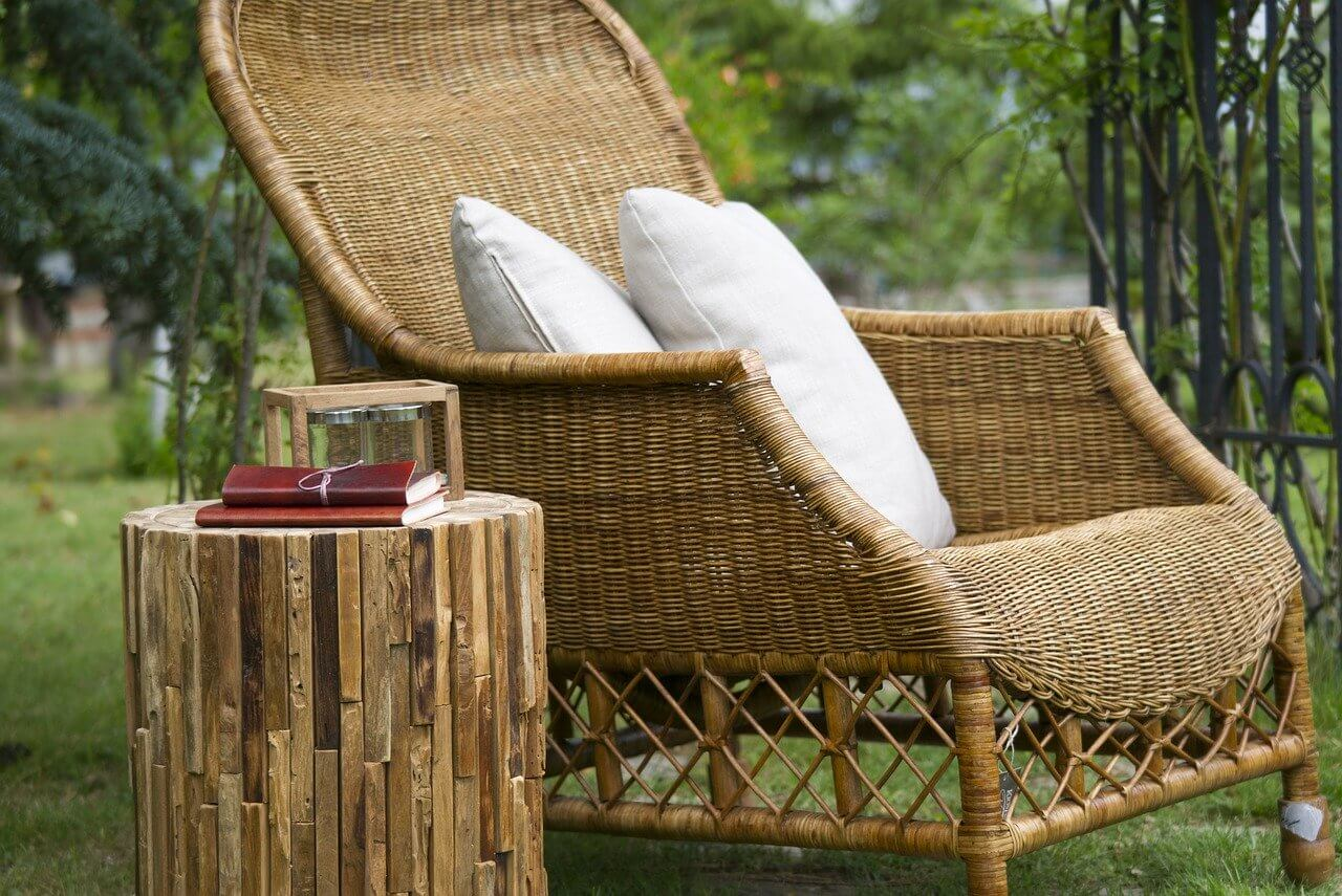 Cum să păstrați peste iarnă mobilierul de grădină din ratan